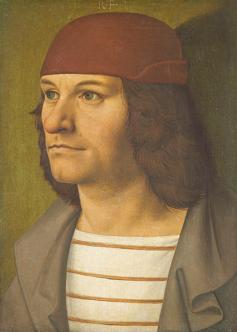 Bildnis des Malers Jobst Seyfrid von Rueland Frueauf d. Ä.