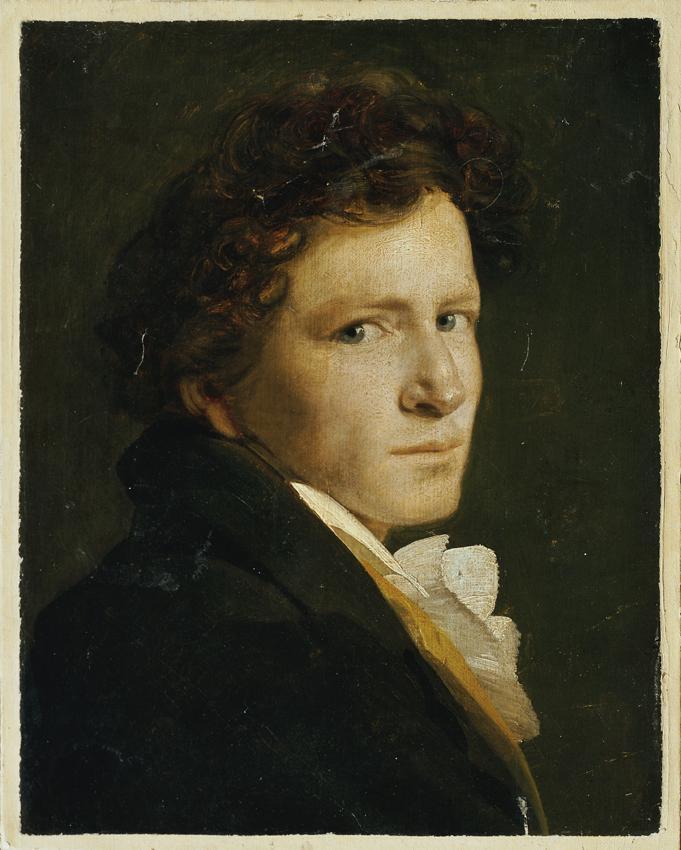 Brustbild eines jungen Mannes von Philipp Otto Runge