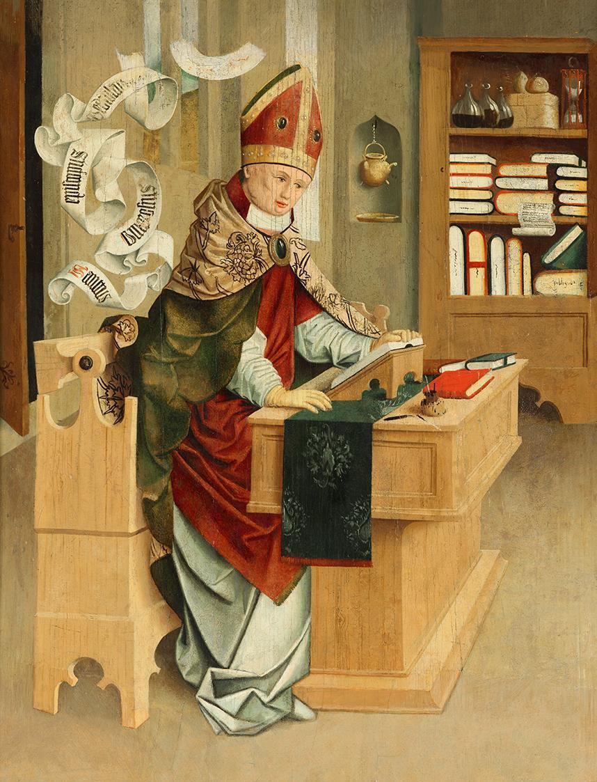 Hl. Ambrosius von Meister von Mondsee