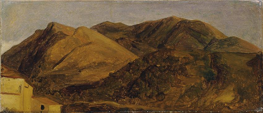 Italienische Landschaft von Carl Rahl