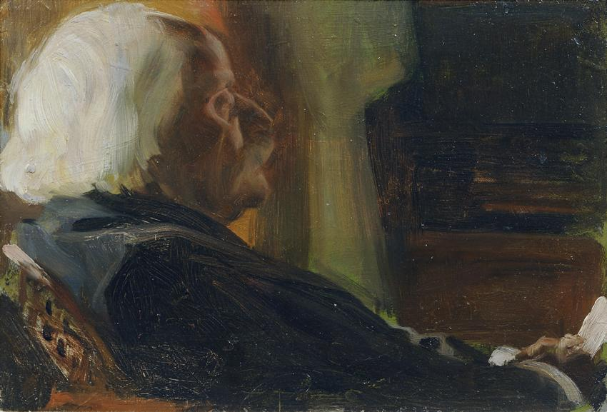 Der Komponist Karl Goldmark von Otto Friedrich