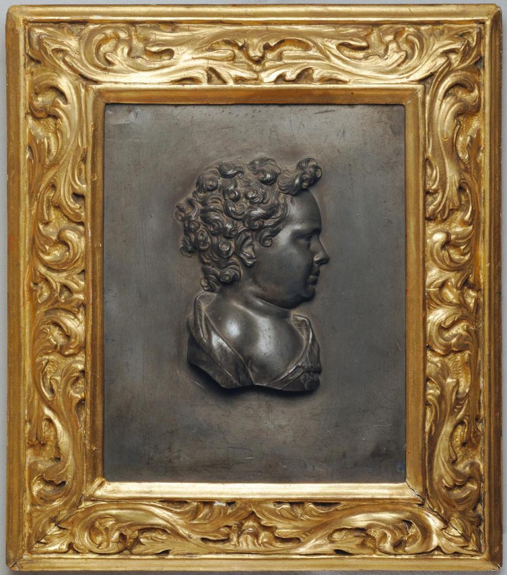 Brustbild eines Knaben von Unbekannter Künstler