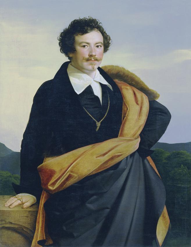Selbstbildnis von Carl Peter Goebel d. Ä.
