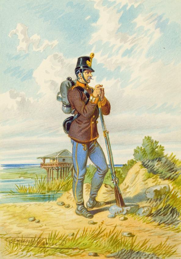 Soldat von Franz Gerasch