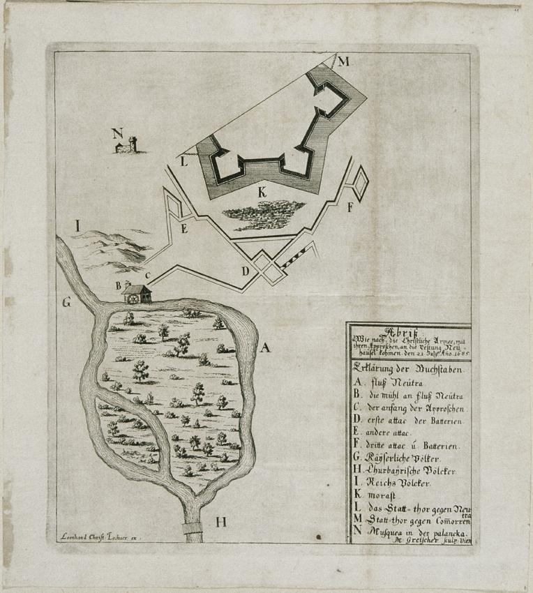 Die Festung Neuhäusl von Mathias Greischer