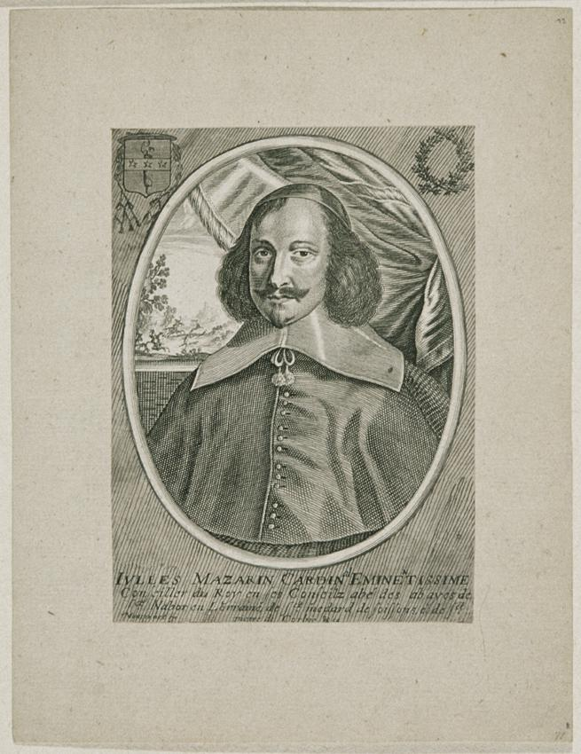 Kardinal Jules Mazarin von Balthasar Moncornet