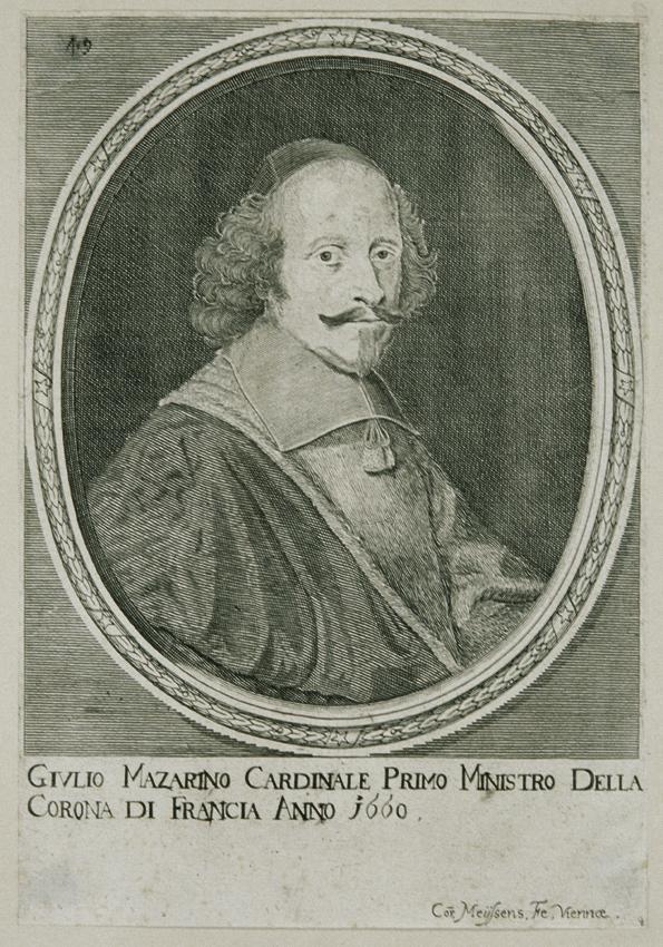 Kardinal Jules Mazarin von C. Mejssens