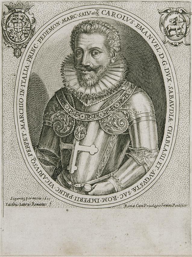 Carl Emanuel I. von Savoyen von Jacobus Laurus
