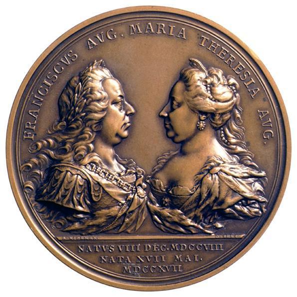 Kaiser Franz I. Stephan von Lothringen und Kaiserin Maria Theresia von Franz Anton Wideman