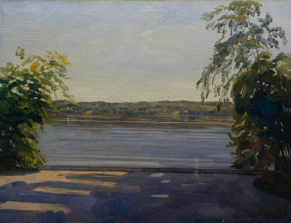 Starnberger See von Wilhelm Trübner