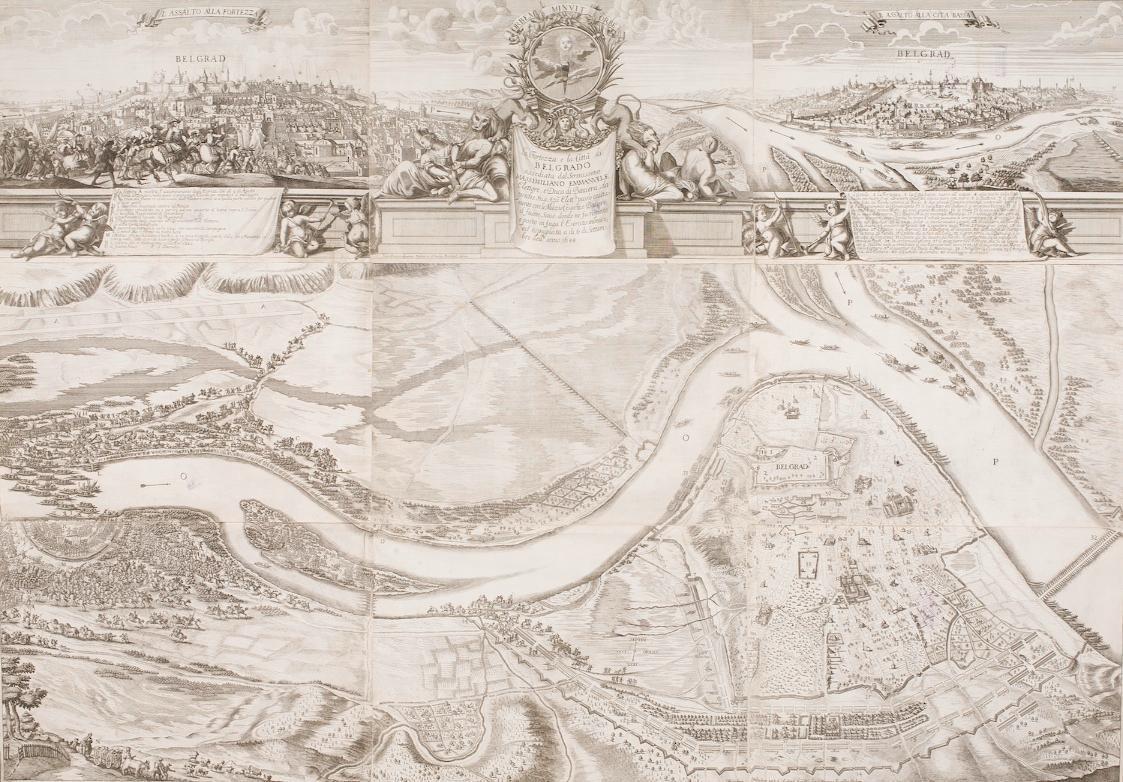 Festung und Stadt Belgrad von Johann Baptist Gumpp