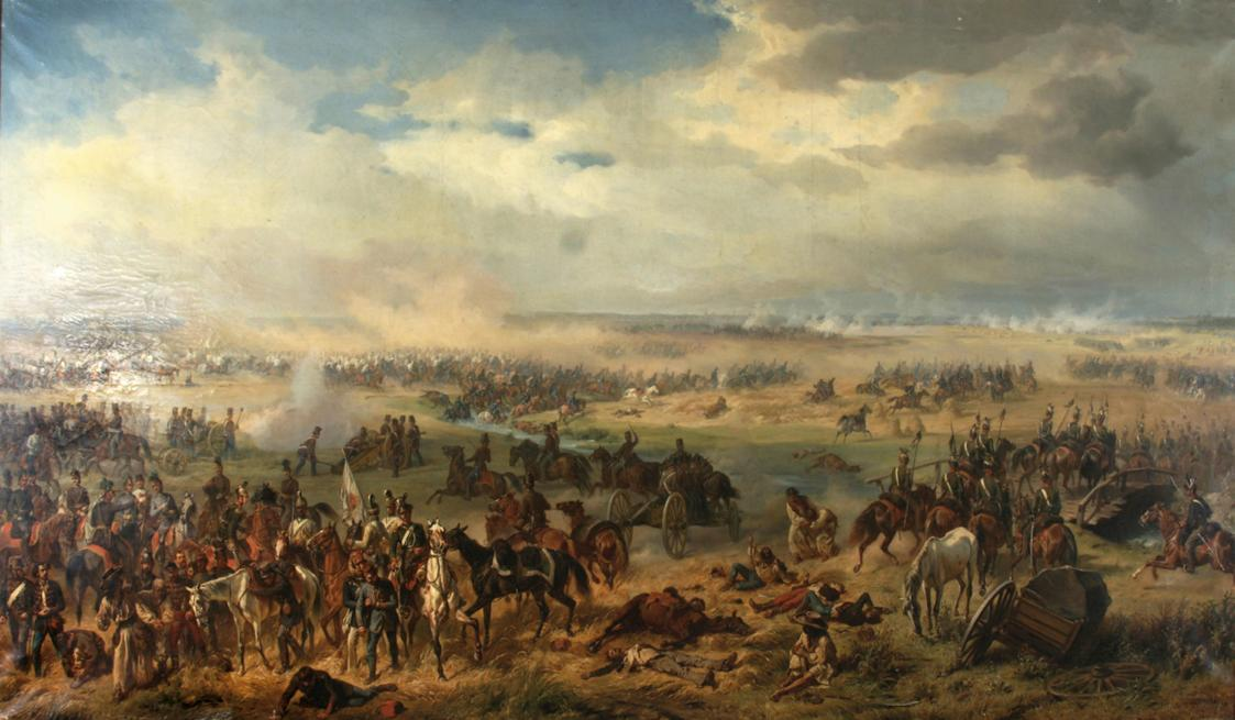 Die Schlacht bei Temesvár von Albrecht von Adam