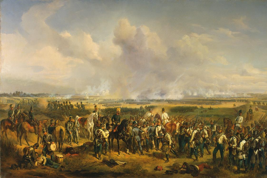 Die Schlacht bei Szeged von Albrecht von Adam