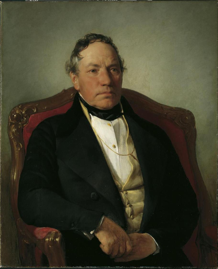 Der Industrielle Johann Nepomuk Reithoffer von Friedrich von Amerling