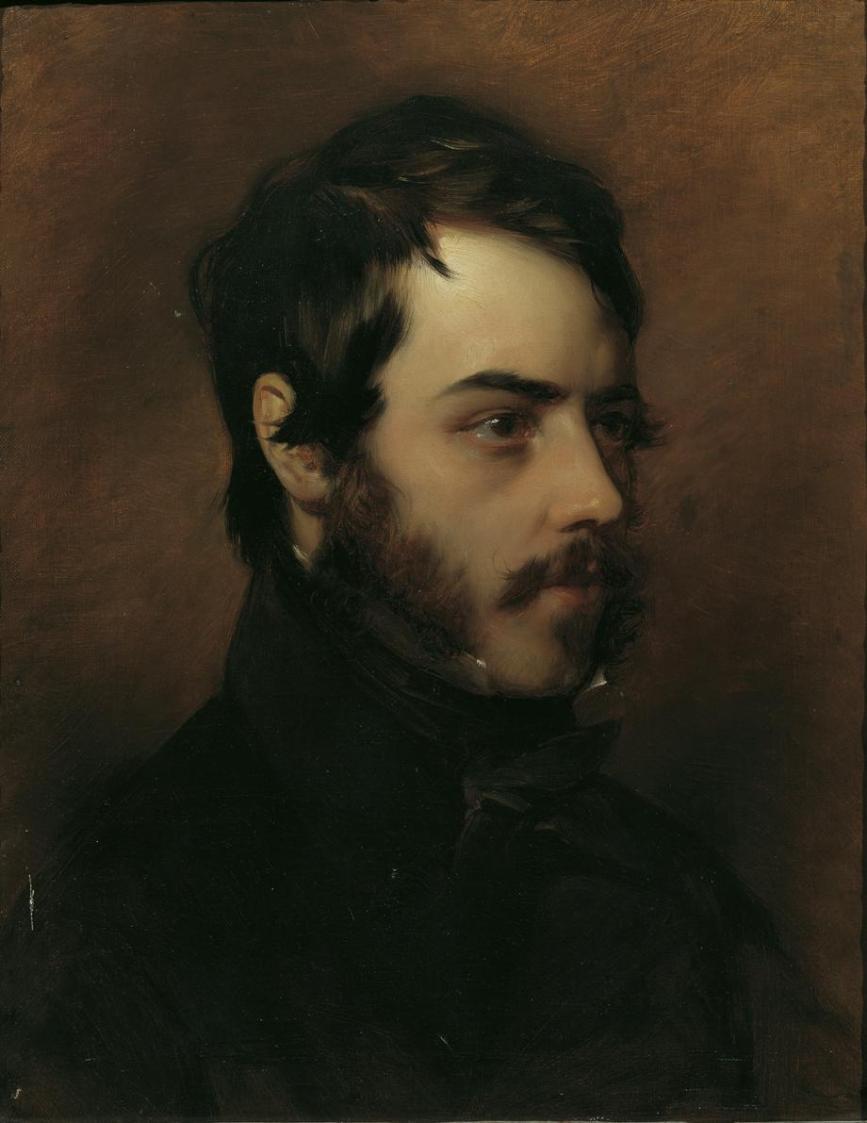 Der Maler Karl von Pausinger von Friedrich von Amerling