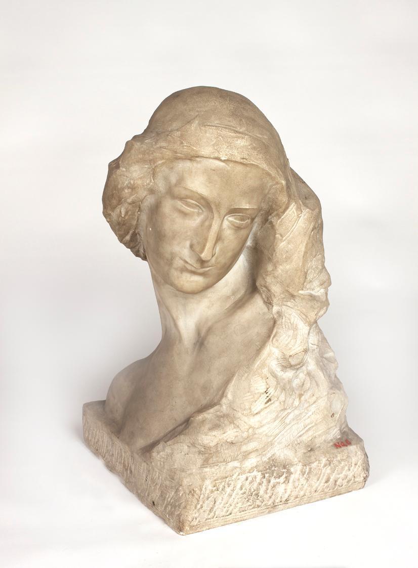 Frauenkopf von George Minne