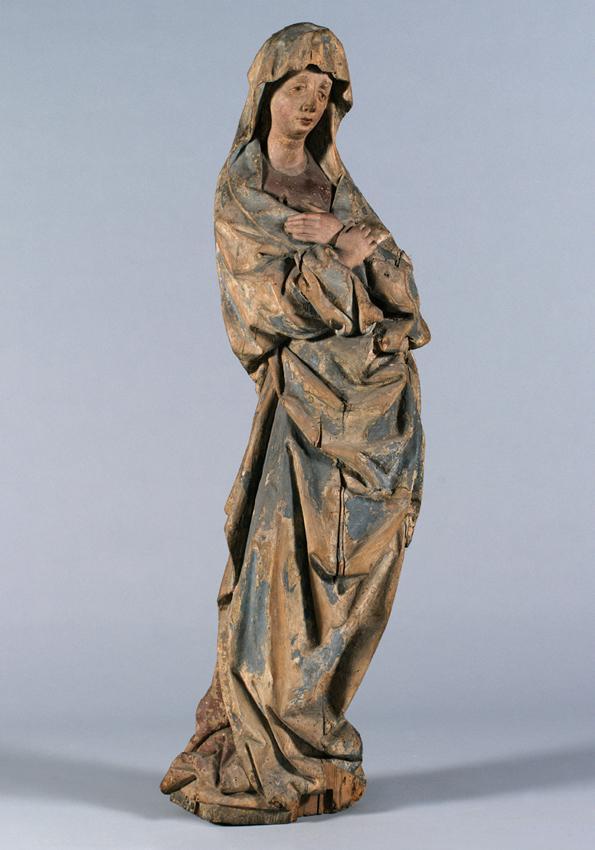 Maria einer Kreuzigungsgruppe von Südweststeirischer Bildschnitzer