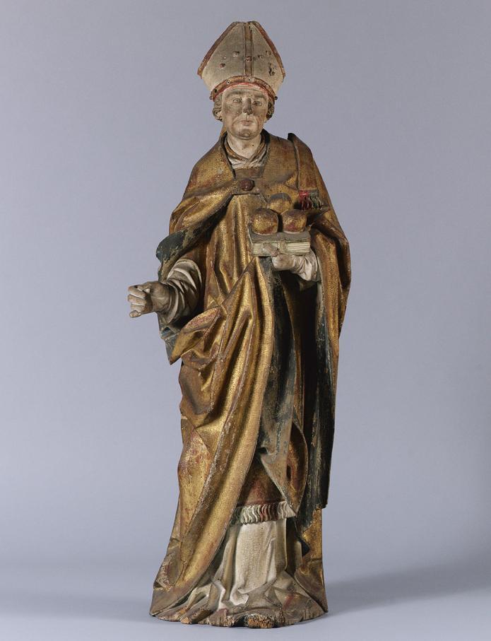 Hl. Nikolaus von Tiroler Bildschnitzer