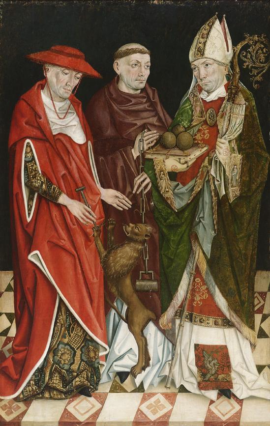 Hll. Hieronymus, Leonhard und Nikolaus