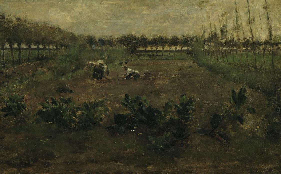 Feldarbeit von Eugen Jettel