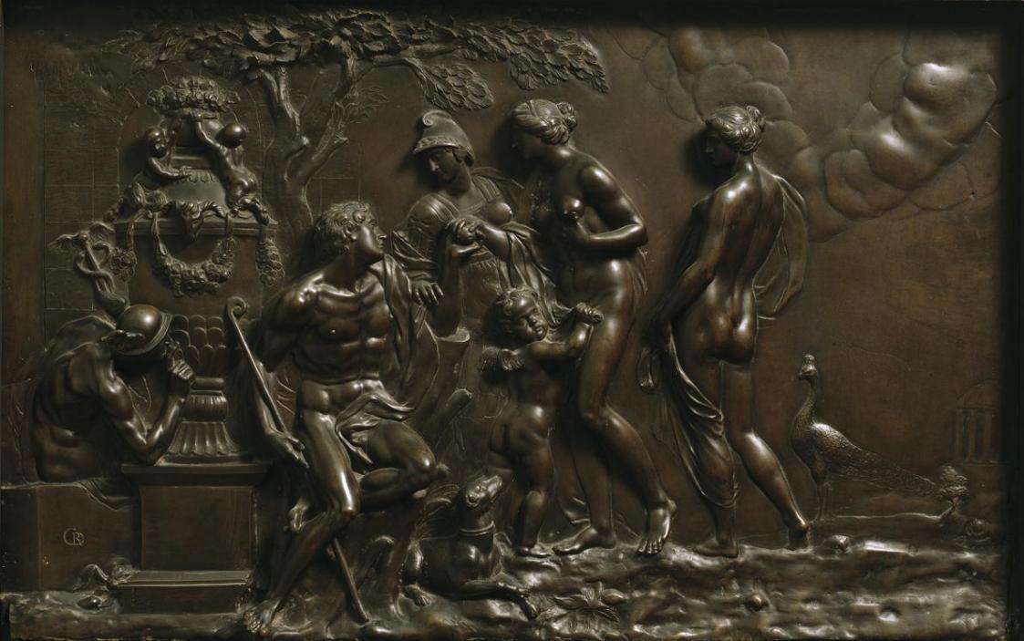 Das Urteil des Paris von Georg Raphael Donner