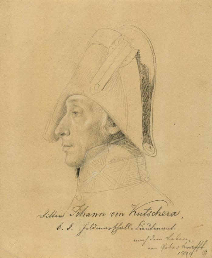 Feldmarschallleutnant Johann Ritter von Kutschera von Johann Peter Krafft