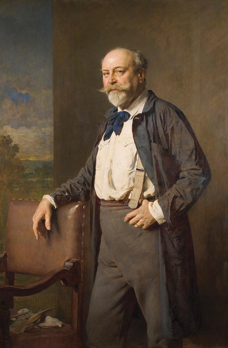 Der Bildhauer Rudolf Weyr von Heinrich von Angeli