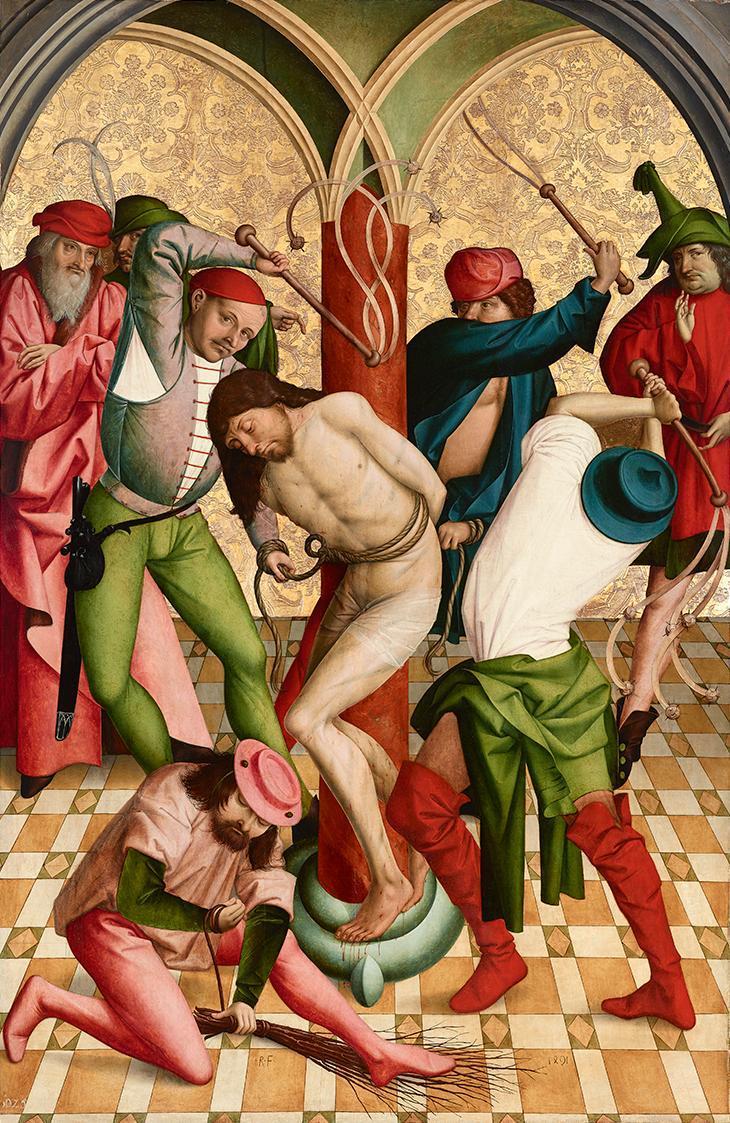 Geißelung Christi von Rueland Frueauf d. Ä.