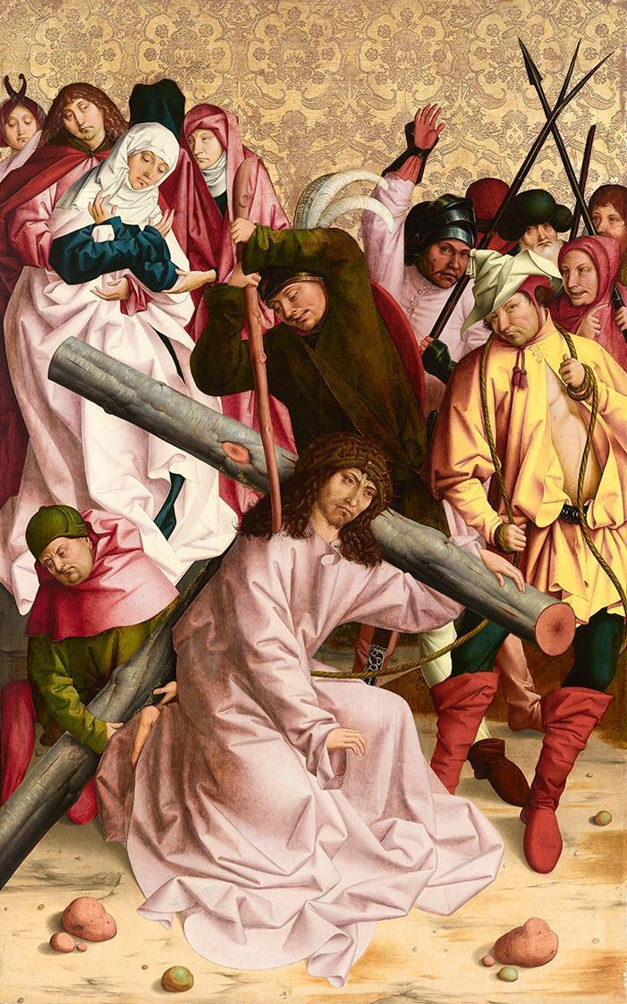 Kreuztragung Christi von Rueland Frueauf d. Ä.