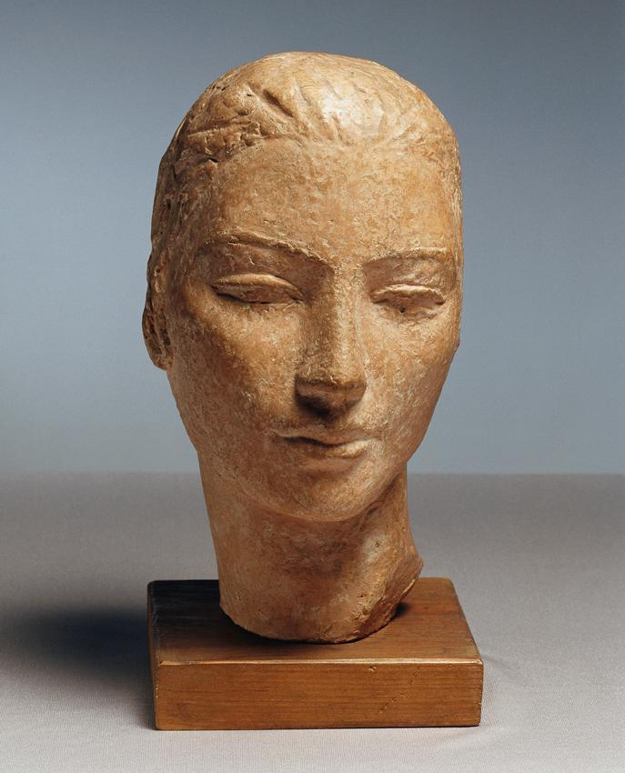 Frauenkopf von Herbert Garbe